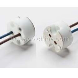 halogen lamp holder g4/g5.3/g6.35 with teflon wire