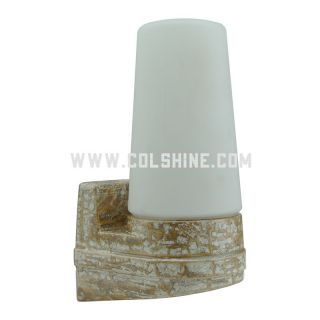E14 Retro porcelain lighting in marble color 405