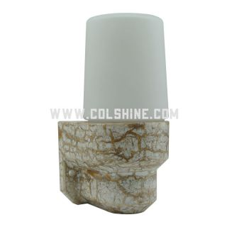 E14  IP54 Vintage ceramic wall lamp 403 marble