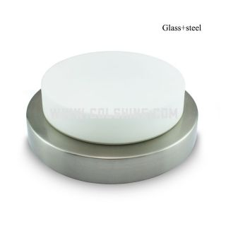 Led ceiling light with glass cover 12W-20W