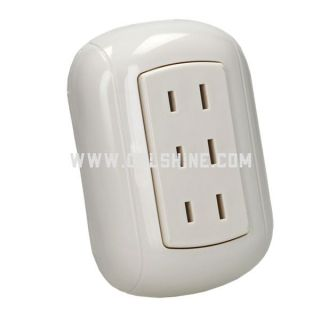 plastic wall socket