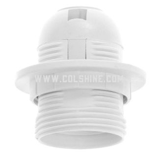 Plastic lamp holder E27 4A 250V