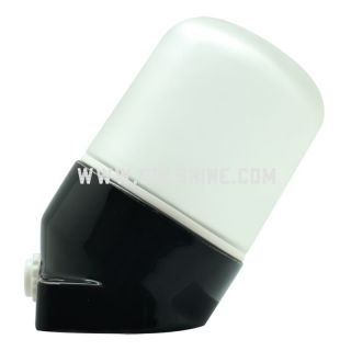 E27 Angled porcelain wall lights 401 black color