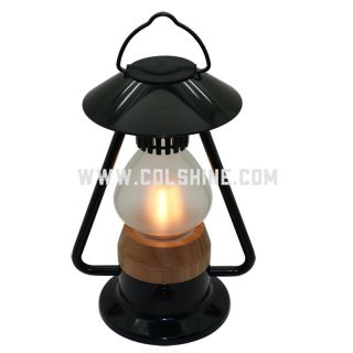 Dimmable LED Camping Lantern with a bluetooth speaker